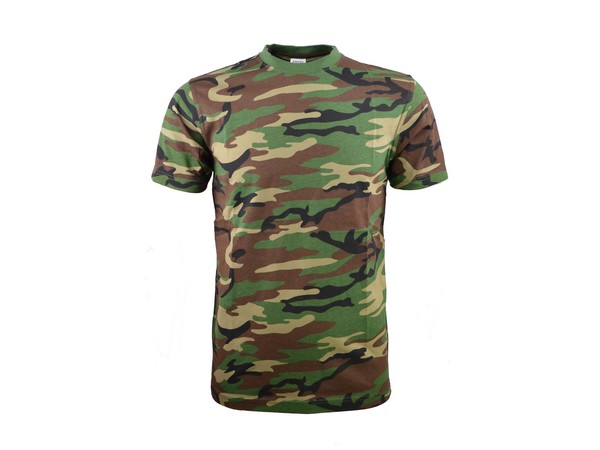 T-shirts diverse camoflages